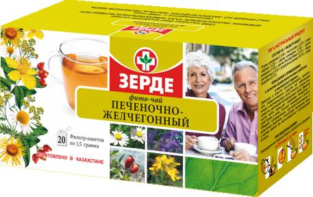фито чай печеночно-жельчегонный: